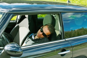 http://www.dreamstime.com/stock-image-man-asleep-car-image25512651