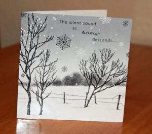 A traditional Christmas Card